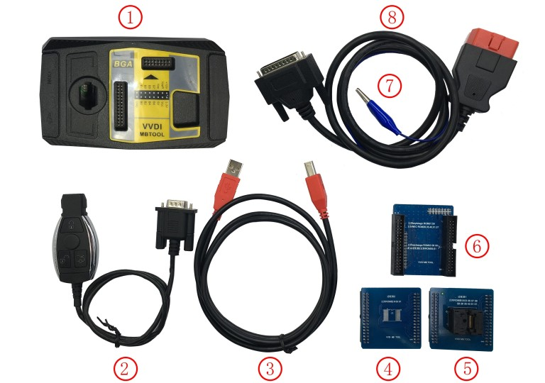 VVDI MB BGA TOOL package