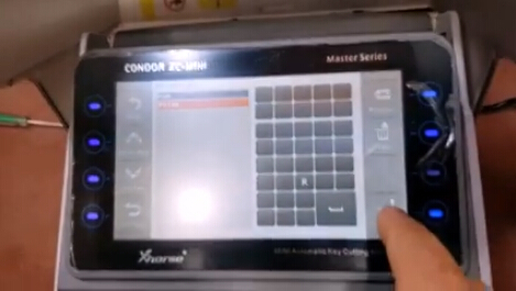 xc Condor mini-cut ford-key-4