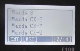 obdstar-F100-キーのプログラミング3