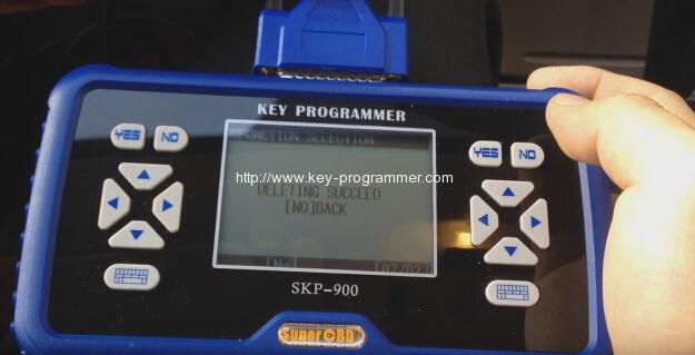 skp900-削除キー - 成功