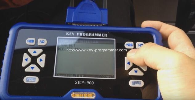 skp900-delete-clé