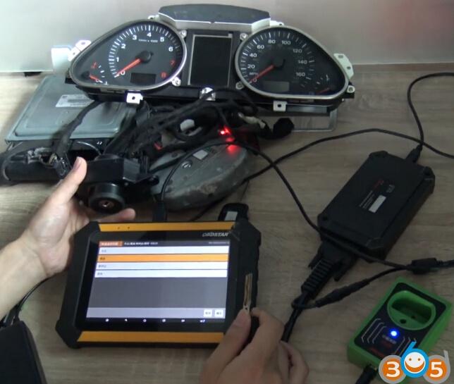 Program Audi A6L 4th IMMO Remote Key By OBDSTAR X300 DP