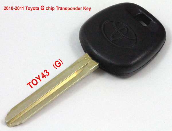 2010 2011 toyota g chip transponder key-1