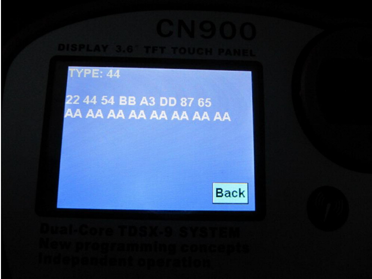 CN900 key programmer read and write Benz W140 chip