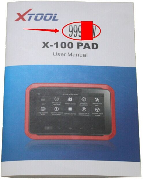 How to activate xtool x100 pad key programmer