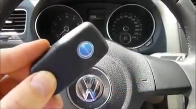 KD900 make key to VW Golf 2012 09-12