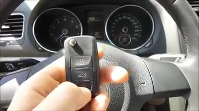 KD900 make key to VW Golf 2012 10-13