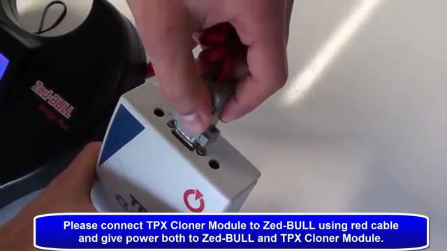 connect zedbull and tpx 02-2