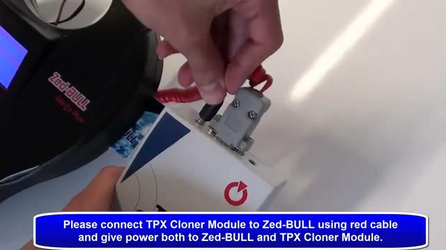 give power to zedbull and tpx cloner 03-3