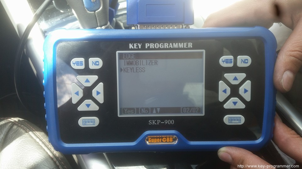 skp900 add smart key ford edge 8-7