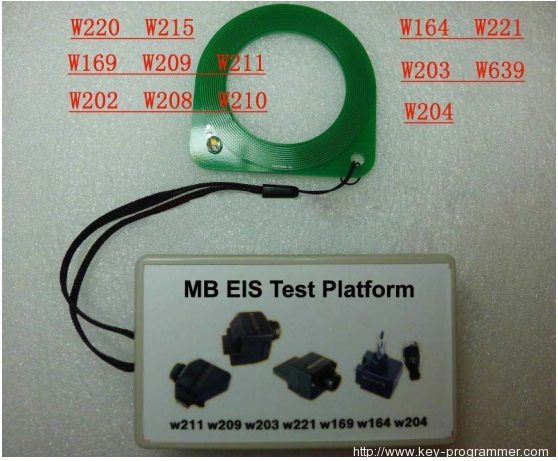 Benz MB EIS Test Platform Connection Guide