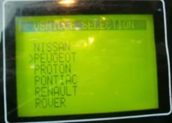 T300 program Peugeot 307 key 6-6