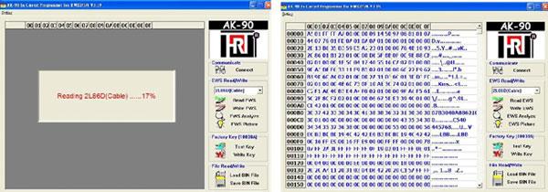 bmw ews ic adaptor for x prog or ak90 and r270 programmer ak90-6