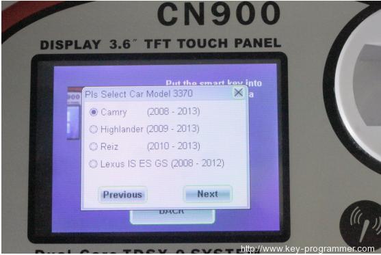cn900 register ys30 6-6