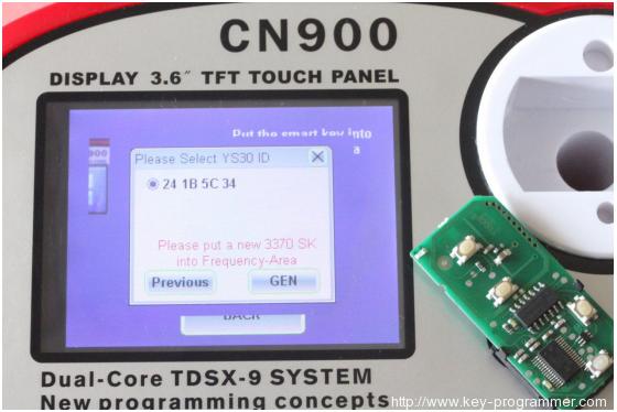 cn900 register ys30 7-7
