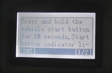 obdstar f10 program key Mazda 6 7-7