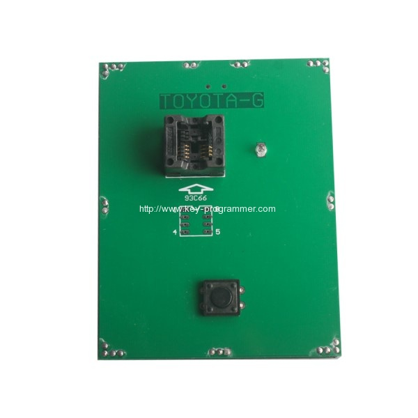 How to use Toyota 4D G chip key programmer