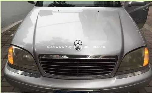 benz w120 key programming-1