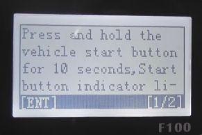 obdstar F100 key programming 4-5