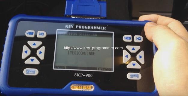 skp900 key progranner add new key 10-10