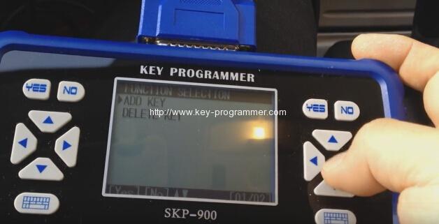 skp900 key progranner add new key 14-14