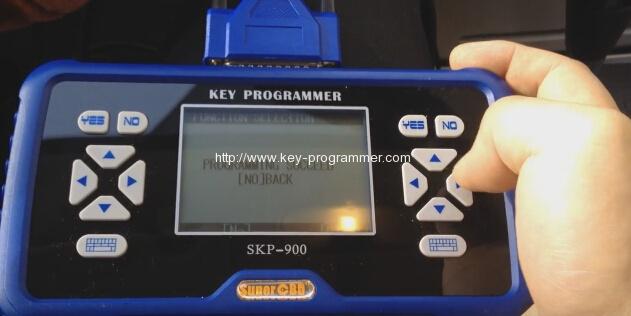 skp900 key progranner add new key 18-18