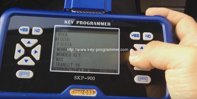 skp900 key progranner add new key 3-3