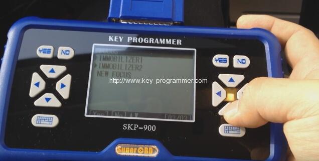 skp900 key progranner add new key 4-4