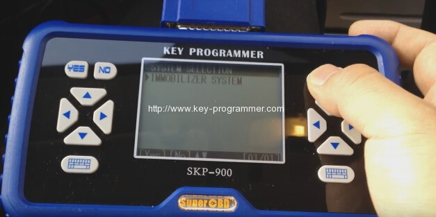 skp900 key progranner add new key 5-5
