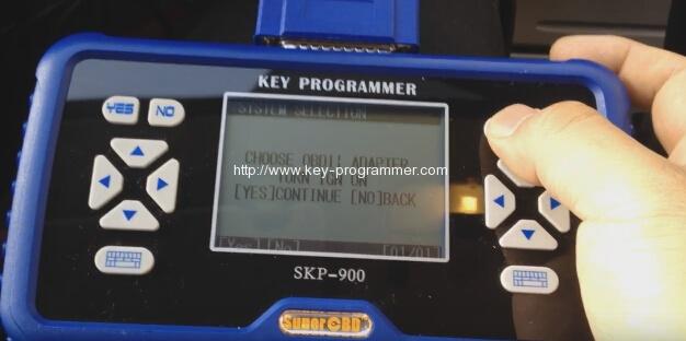 skp900 key progranner add new key 6-6