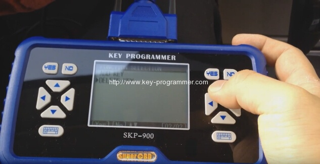 skp900 key progranner add new key 8-8