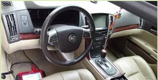 Cadillac sls key programming 4-7
