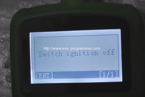 OBDSTAR F108 program Citroen C5 key 16-16