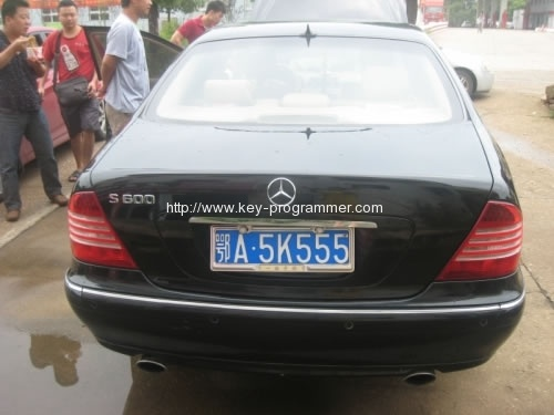 Program Mercedes S600 key with R270 & AK500+