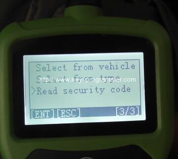 obdstar f108 program peugeot 508 smart key 8-6