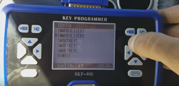 SKP900 program toyota G chip 7-7