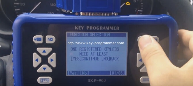 sk900 program landrover keys 10-10