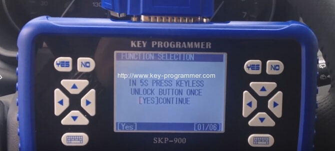 sk900 program landrover keys 16-16