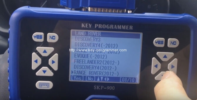sk900 program landrover keys 4-4
