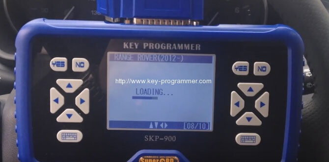 sk900 program landrover keys 5-5