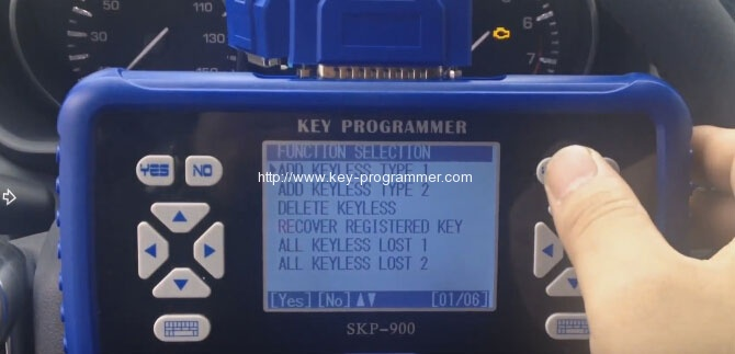 sk900 program landrover keys 9-9