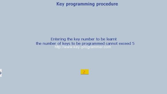 Lexia 3 PP2000 program peugeot 307 keys 15-18