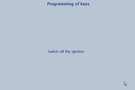 Lexia 3 PP2000 program peugeot 307 keys 16-19