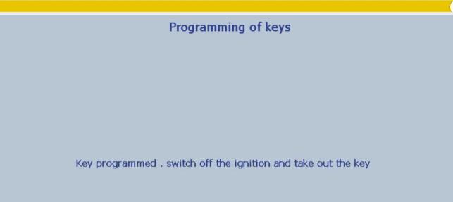 Lexia 3 PP2000 program peugeot 307 keys 18-21