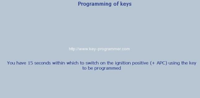 Lexia 3 PP2000 program peugeot 307 keys 19-22