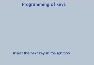 Lexia 3 PP2000 program peugeot 307 keys 20-23