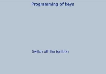 Lexia 3 PP2000 program peugeot 307 keys 21-24