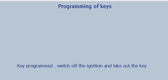 Lexia 3 PP2000 program peugeot 307 keys 23-26