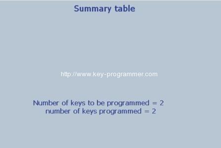 Lexia 3 PP2000 program peugeot 307 keys 24-27