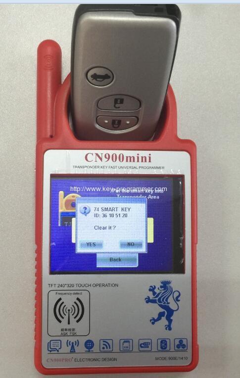 cn900 renew smart key 3-3